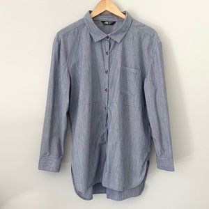 THE NORTH FACE Chambray Button-Up Tunic Size XL